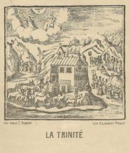 Cahiers de la Haute-Loire. Année 2014-2015. Chapelle de la Trinité à Montclard.